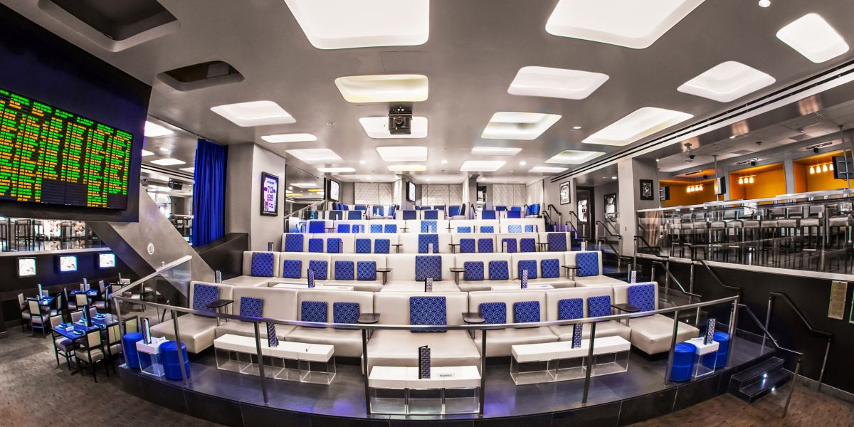 Lagasse's Stadium, Las Vegas Sports Book with Food and Drink