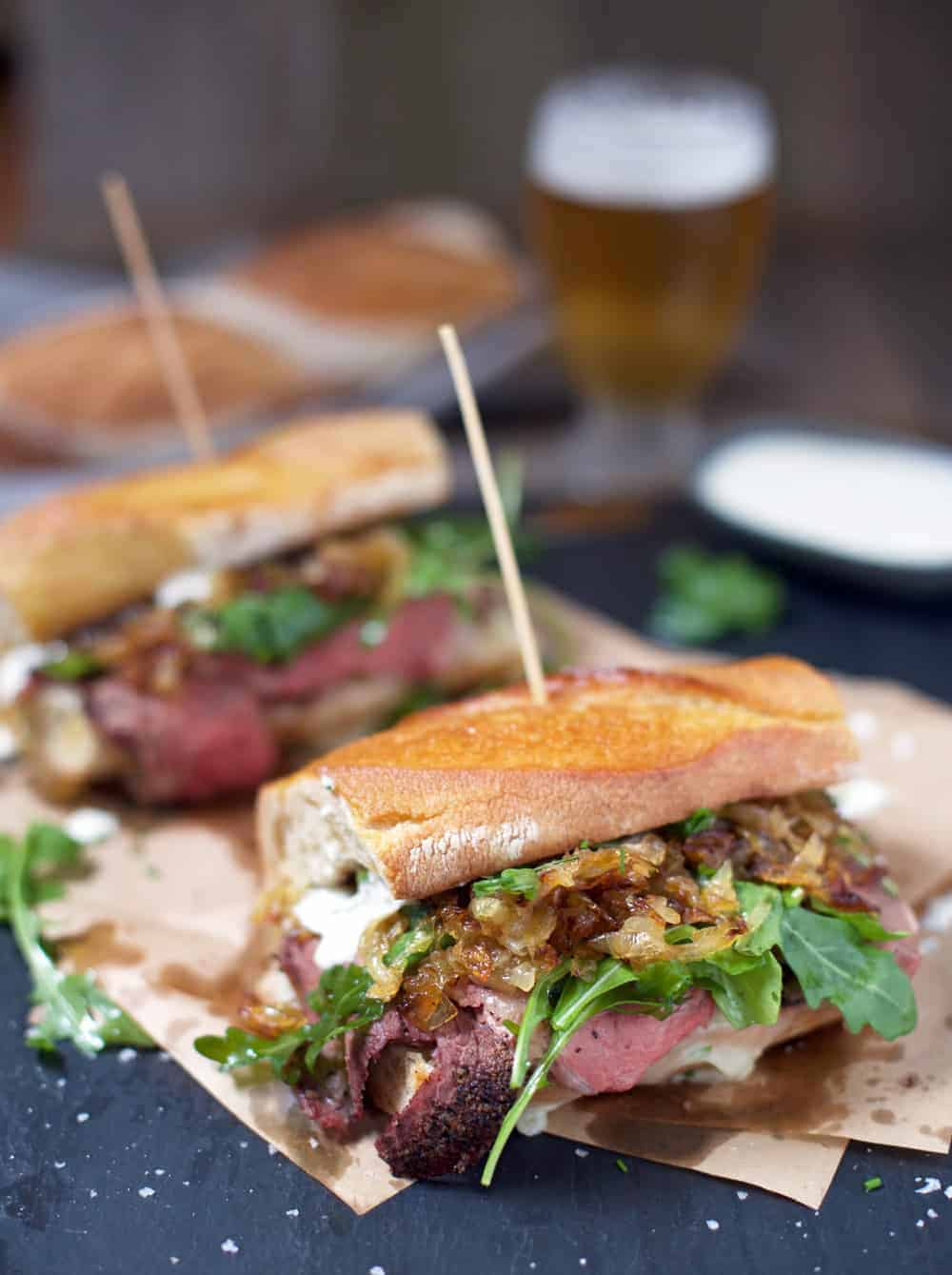 Madison Square Garden's Best Food For Rangers Fans: The Prime Rib Sandwich